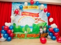 Taqris and Elsa birthday party 2014
