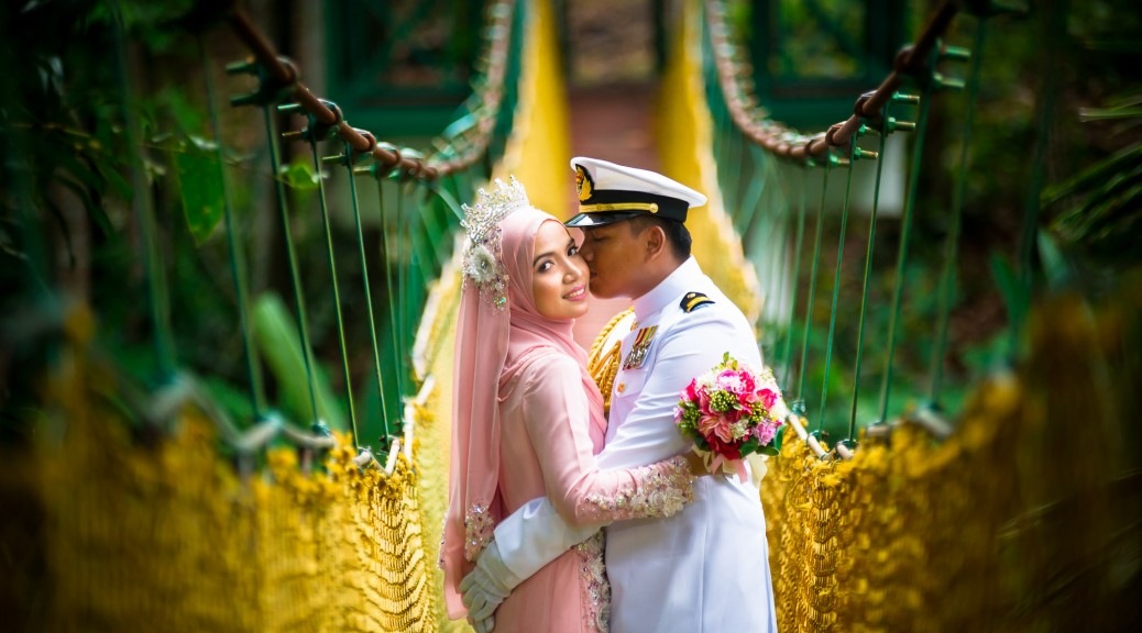 Leftenan Faizul dan Dr.Liyana