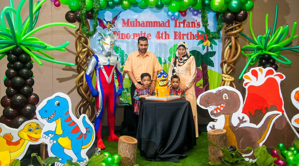Muhammad Irfan's 4th Birthday Party : Sime Darby Convention Centre, Kuala Lumpur 2015. Photo by http://ezaniphoto.com