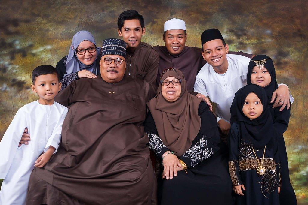 Family Aidilfitri 2016