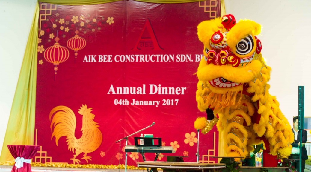 Aik Bee Construction Annual Dinner 2017. Photo by Ezaniphoto.com